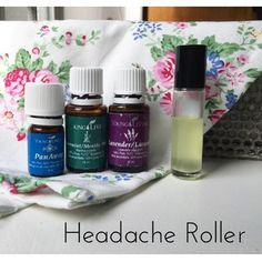 This is one of my favourite rollers. #myoilyhusband gets headaches a lot so I made this up for him within days of getting my starter kit. He was amazed at how quickly it worked. It really helped get him on board with the whole oil thing. I've met a lot of husbands who are skeptical but everyone one of them has come around as soon as they give Young Living a try.  Headache Roller -15 drops peppermint -5 drops panaway -5 drops lavender  Top with your carrier of choice.  #seedtoseal #yleo…