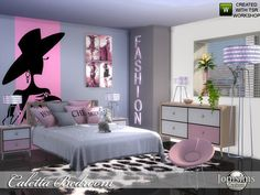 caletta adult bedroom for your sims . in 4 shades. Found in TSR Category 'Sims 4 Adult Bedroom Sets' Resource Furniture, Sims 4 Cc Furniture, Bedroom Furniture Sets, Bedroom Sets, Furniture Decor, Cluttered Bedroom, Muebles Sims 4 Cc, The Sims 4 Packs, Sims 4 Bedroom