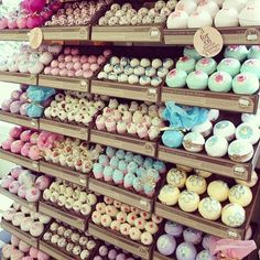 "Here is an image of several different types of bath bombs. This images makes me think of variety. Looking at this image motivates me to master ""variety"" as a whole. Being able to create an assortment of the same products in different scents, colors, and shapes gives customers options. We all love options, right?"