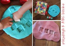 Playing House: Invitations to Play - Play Dough Fun