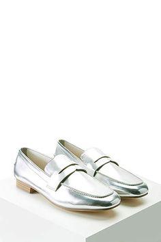 Loafers Metalizadas