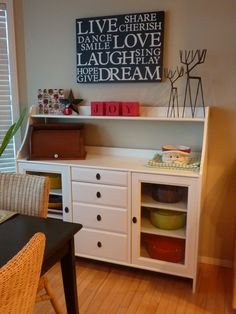 My Crafty Days: Ikea Furniture Redo & Nook Makeover
