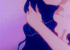 grafika aesthetic, gif, and anime Film Aesthetic, Aesthetic Images, Purple Aesthetic, Retro Aesthetic, Aesthetic Grunge, Aesthetic Anime, Anime Sexy, Anime Sensual, Hot Anime