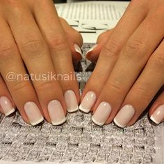 French tips.