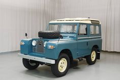 //1963 Land Rover 88 Station Wagon