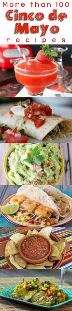Cinco de Mayo Round-Up - More than 100 Mexican/Tex-Mex recipes from your favorite food bloggers! #CincoDeMayo #Mexican #roundup by lovebakes...