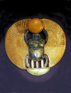 ♔ Ancient Egyptian scarab