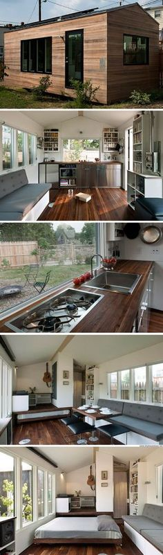 The Minim House: a 210 sq ft tiny house designed by a Harvard-graduate