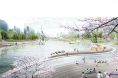 Buro Sant en Co landschapsarchitectuur - Songxi Harbin
