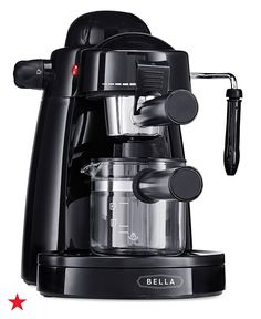 With the Bella steam espresso maker, you can whip up bistro-style espressos, lattes and cappuccino when it's time for dessert at your holiday party. It features a 4-cup carafe and an easy-to-use steam wand for quickly heating and frothing milk. Make sure it's on your wedding registry at macys.com.