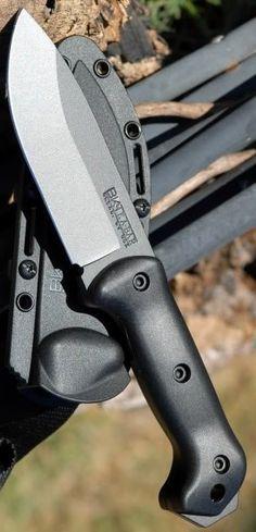 Ever Useful Ka-Bar Becker BK2 Campanion Fixed Blade Knife