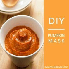 Three reasons to Love Pumpkin! Vitamin A (helps the skin rebuild tissues), antioxidant Vitamin C (brightens skin, evens skin tone), and Zinc (antibacterial and helps repair skin). Pumpkin also regulates oil production, reduces pore size, and protects against free radicals. Enjoy this recipe! :)  (Yield: 1 Application)  2 tsp. pumpkin (Puree or Mashed) ½ tsp. honey ½ tsp. Yogurt (plain)  Mix ev