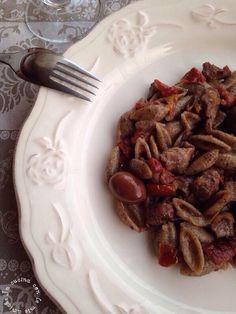 Gnocchetti+di+grano+saraceno+con+ragù+di+agnello