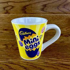 Cadbury's Mini Egg Cup Mug New Easter chocolate memorabilia sweets collectable Mini Eggs, Easter Chocolate, Cups, Sweets, Tea, Coffee, Tableware, Kaffee, Mugs