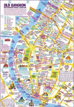 Nancy Chandler's Map of Khao San & Old Bangkok, 2nd ed.: Nima Chandler, Nancy Chandler: 9786169046226: Amazon.com: Books