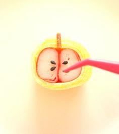 カニカマりんごのデコおかず(._.)φ | *森崎りよのママレシピ*