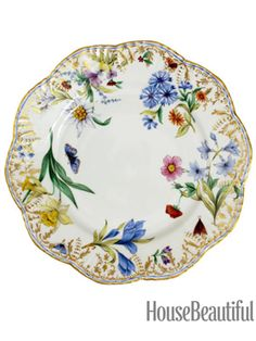 5 Floral Plates (That Aren\u0027t Too Girly or Granny)  sc 1 st  Pinterest & Victorian China Paper Plates - way too pricey for us but we like the ...