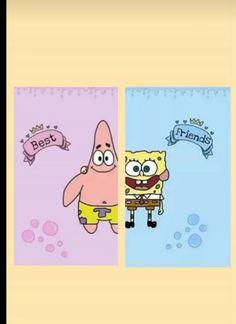 spongebob friendschip wallpaper