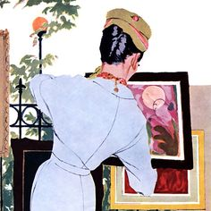 Detail Of Pepsi-Cola The Fine Art Of Staying Lovely Pepsi - Mad Men Art: The 1891-1970 Vintage Advertisement Art Collection