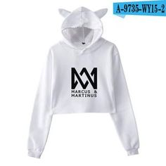 New Fashion Marcus and Martinus Clothes Hoodie Sweatshirt Pullovers Women Long Sleeve Hoody Hooded Hip Hop Streetwear Tops Hip Hop Women, Top Streetwear, Crop Top Hoodie, Cheap Hoodies, New Fashion, Cool Outfits, Street Wear, Kpop, Sweatshirts