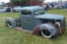 belly dragger at the west coast kustoms show in santa maria ca