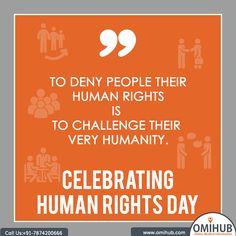From the #news we see or read makes it evident that #Humane values are under attack stressing the importance of #HumanRightsDay!