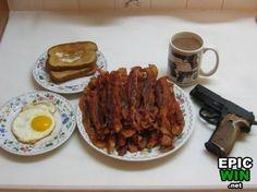 Manly breakfast