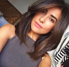 This year medium haircut is about soft natural lines and timeless sophisticated style. The medium hairstyle can be very diverse and one of the most versatile haircuts. These hairstyles suite very age - young and old. Whether you go for the bohemian messy waves or for a polished look a shoulder-length haircut is #womenhaircutslong