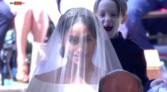 Gleeful Pageboy Steals The Show At Harry And Meghan's Wedding