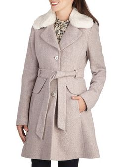 The Long Way There Coat, #ModCloth