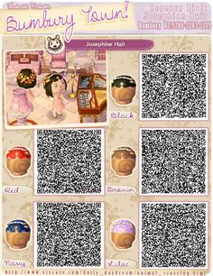 animal crossing qr codes hair female