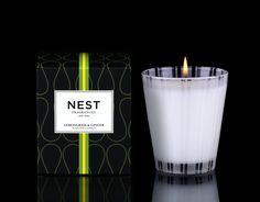 Lemongrass & Ginger Classic Candle #NESTFragrances #ScentedCandle