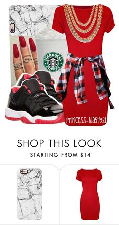 """""""*"""" by princess-kia54321 ❤ liked on Polyvore featuring Casetify, Retrò, WearAll and Wet Seal"""