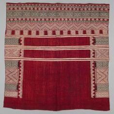 Shawl. Tunisia. Berber. 20th century. Textile Museum of Canada