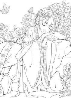 Cute Coloring Pages, Adult Coloring Pages, Coloring Books, Warcraft Funny, Classic Portraits, Dark Art Drawings, Color Pencil Art, Art Reference Poses, Pictures To Paint