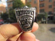 31e7ae978ded 2007 England Patriots AFC Championship Ring Solid High Quality Men Sport  Fan Gift BC3709