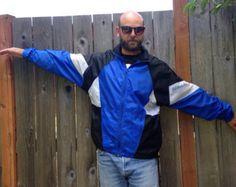 vintage track jacket - Google 検索 Vintage Windbreaker, Fall 2016, Rain Jacket, Raincoat, Track, Google, Jackets, Fashion, Moda