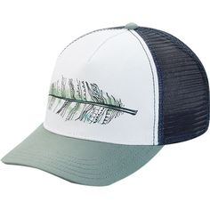 DAKINE Feather Trucker Hat - Women s Green Bay Outfits With Hats 79379957d33