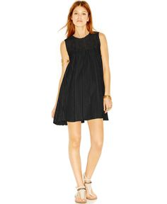 Free People Lace A-Line Shift Dress