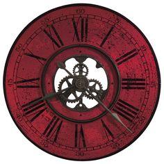 "The Brassworks 32"" Wall Clock, $252.70 at #dublinclockworks"
