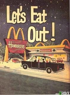 McRetro - I dislike maccas, but it's a cool old ad.