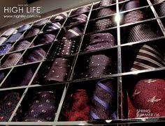 Cada corbata refleja un singular atributo para cada ocasión. #HighLife