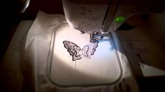 Butterfly embroidery Brother Innovis 955