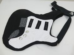 Bolsa guitarra - molde
