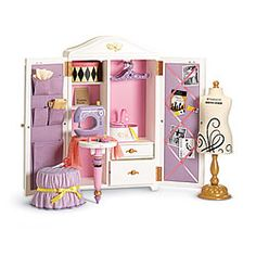 American Girl Doll of the Year has a sewing room!!!  Why is it $275?  I want one!