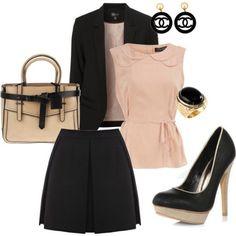 outfits trabajo moda mujer