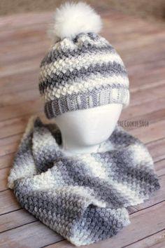 e689b5f9a4c Bean Stitch Beanie Free Crochet Pattern Crochet Cap