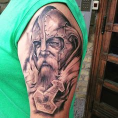 75 Exceptional Viking Tattoo Designs & Symbols Check more at http://tattoo-journal.com/50-exceptional-viking-tattoo-designs/