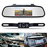"""#7: Backup Camera and Monitor Kit,Chuanganzhuo 4.3"""" Car Vehicle Rearview Mirror Monitor for DVD/VCR/Car Reverse Camera + CMOS… #tech #ad"""