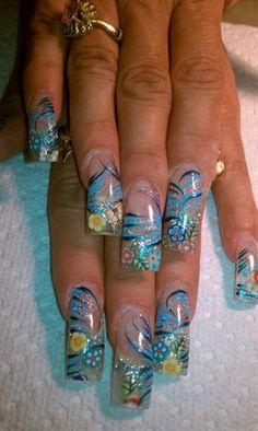 glass beeds by AlysNails - Nail Art Gallery nailartgallery.nailsmag.com by Nails Magazine www.nailsmag.com #nailart